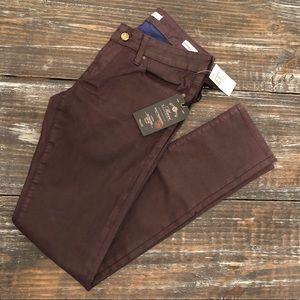 Mavi jeans Serena purple coated jeans 27/32 NWT